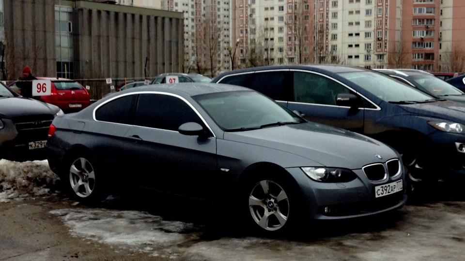 BMW 3 series Coupe зато не пешком:)