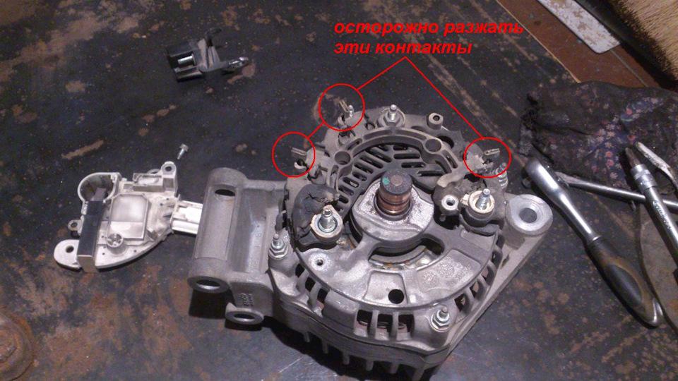 Генератор форд фокус 2 ремонт своими руками 967