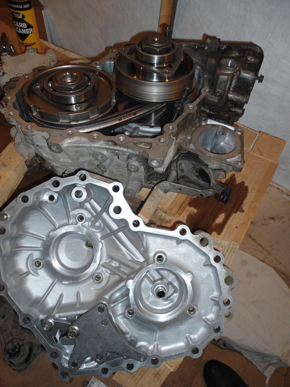 Ремонт вариатора Nissan своими руками 43