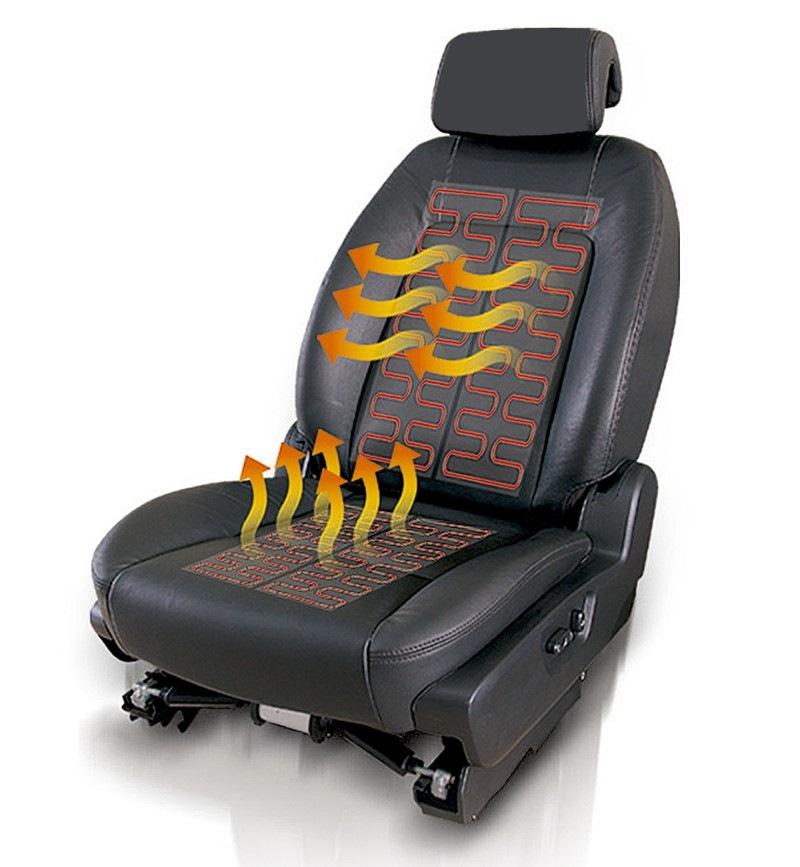 Подогрев сидений ВАЗ 2107 (На