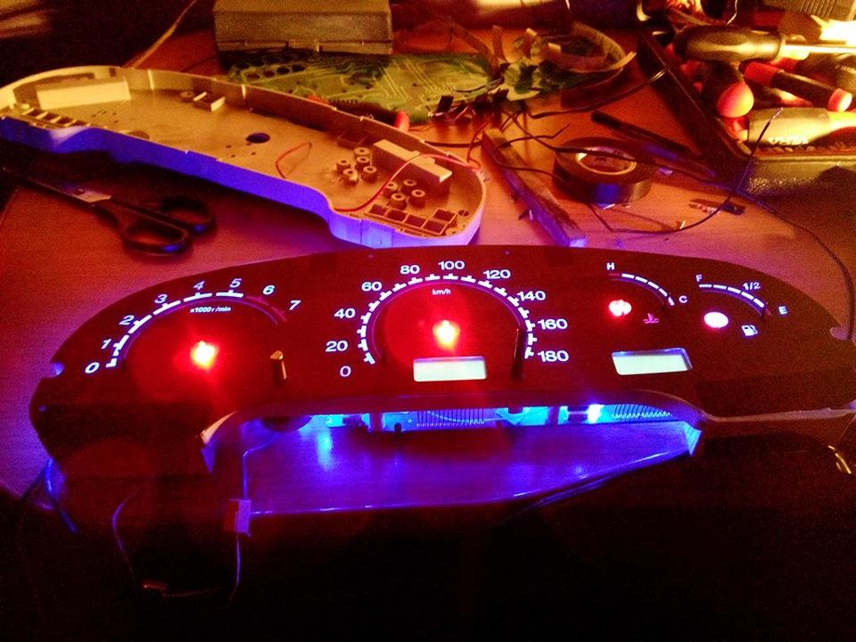 Светодиодная подсветка приборной панели