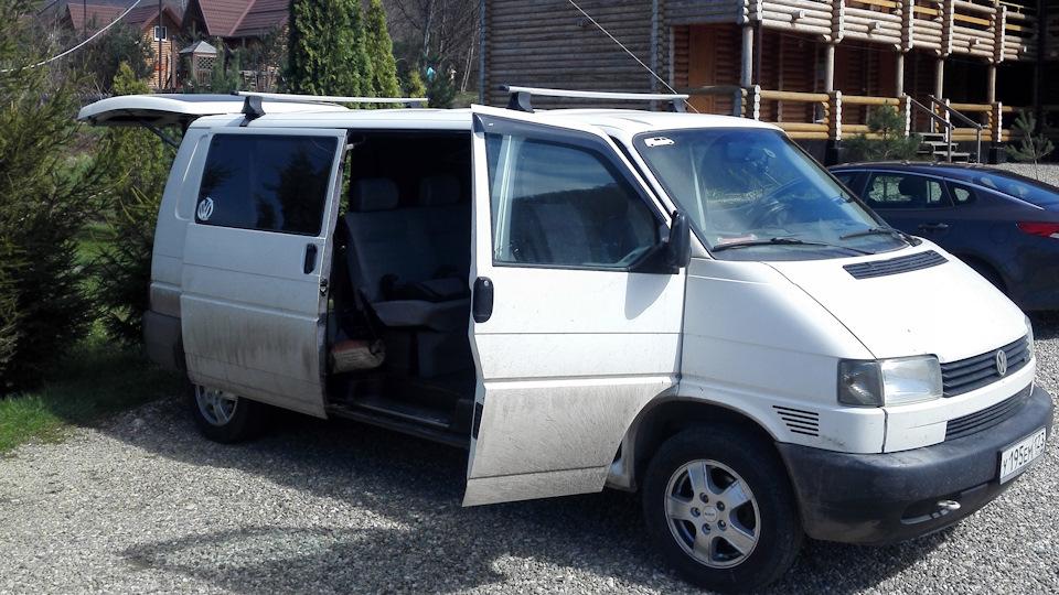 все о Volkswagen transporter t4 2001 год