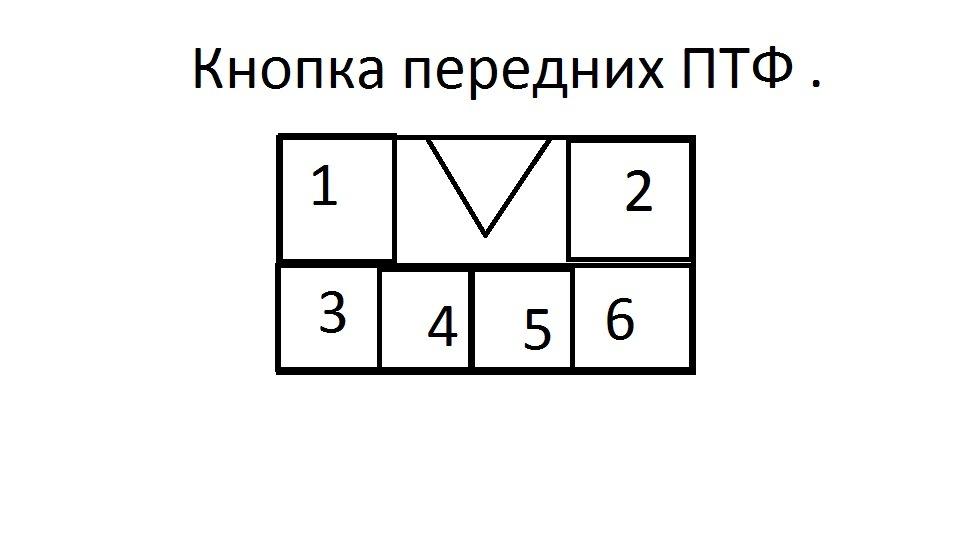 ПТФ левая (не оригинал)