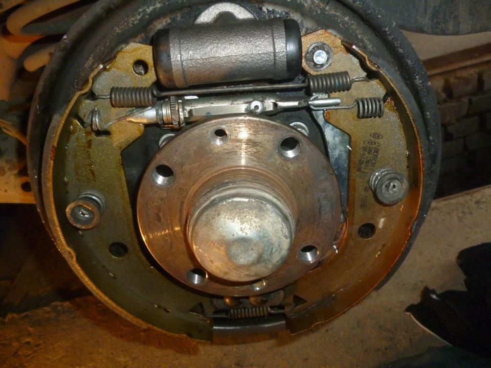 задний тормозной барабан на фиат мареа