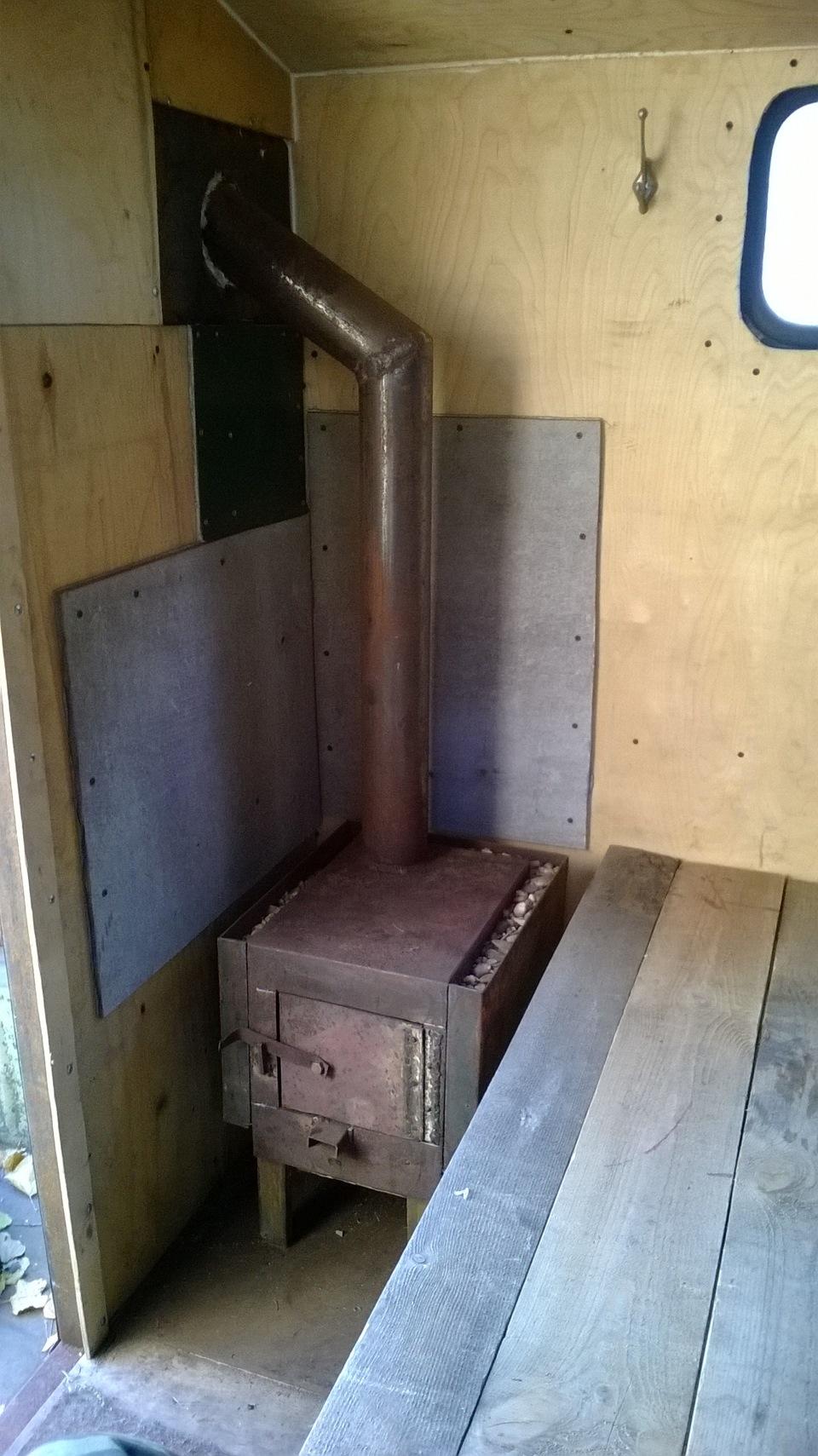 участке печка в кунге фото последних снимков