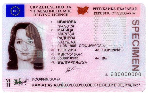 Как купить права в болгарии