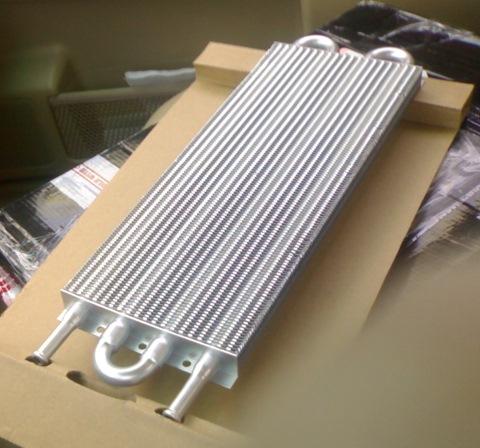 Радиатор-теплообменник двигатель ямз 7511 как снять водомаслянный теплообменник