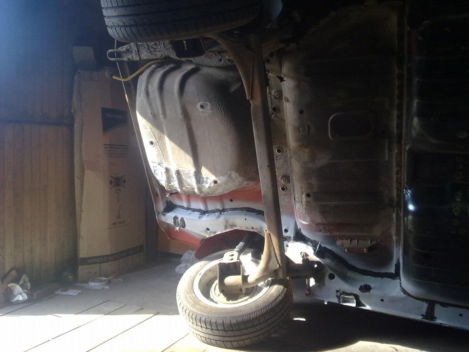 21aa318s 960 - Лонжерон ваз 2109 - ремонт, замена