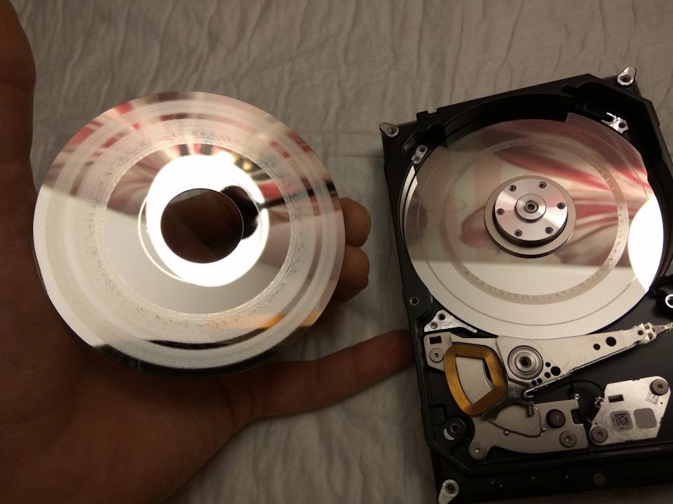 Как из жесткого диска сделать накопитель