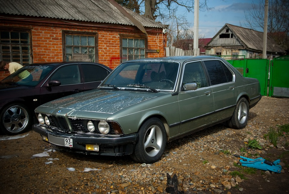 Bmw E23 Coupe