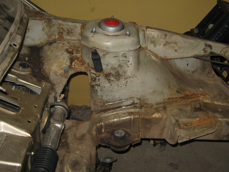 Фото №3 - кузовной ремонт ВАЗ 2110 своими руками
