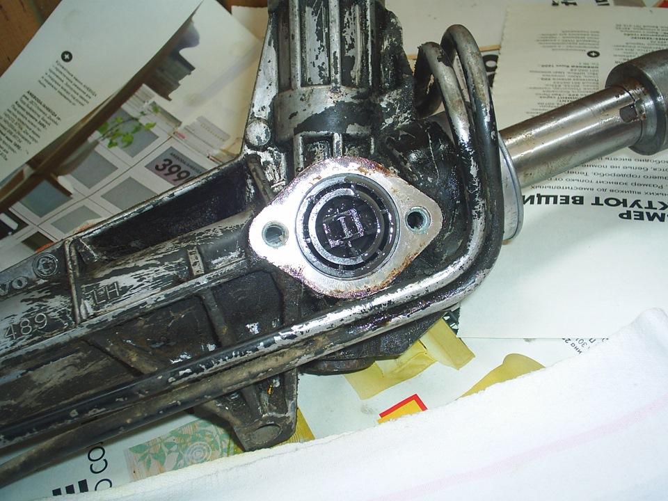 Вольво 850 ремонт рулевой рейки своими руками
