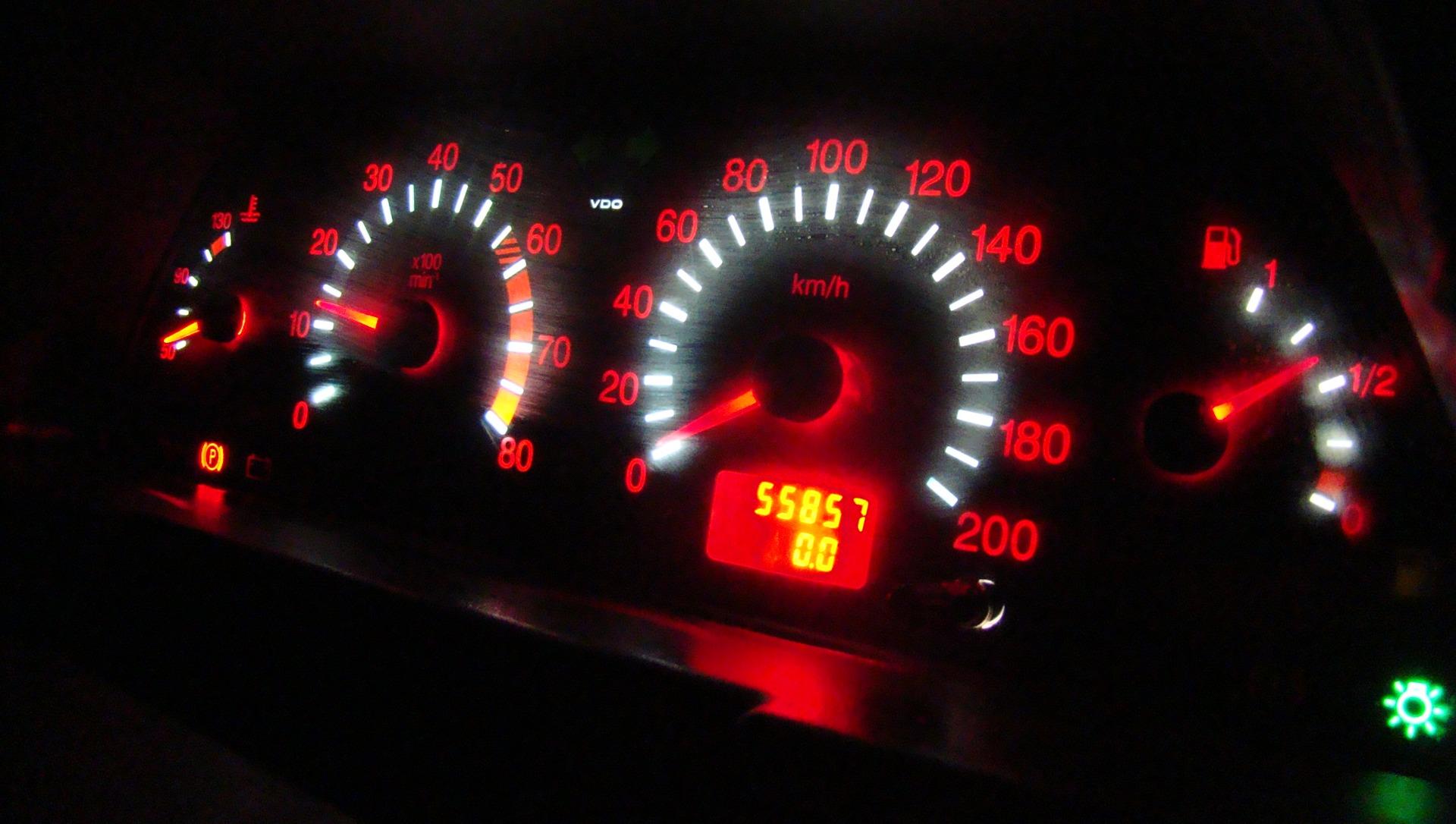 Подсветка панели приборов автомобиля своими руками