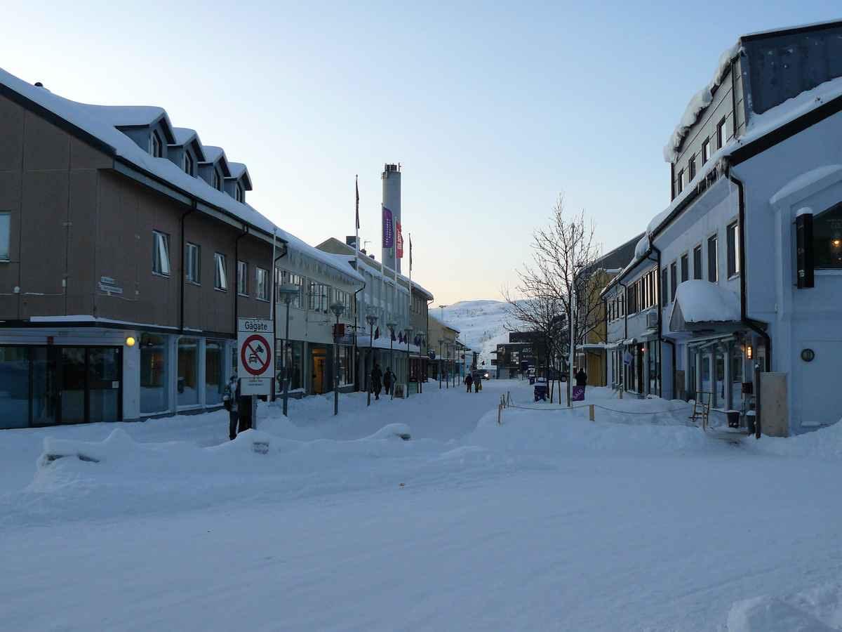 запечатлели норвегия киркенес сани фото его снимках