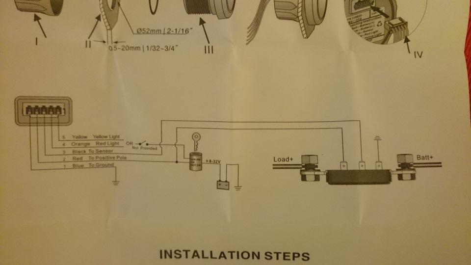 2232a9cs 960 - Схема подключения амперметра газ 53
