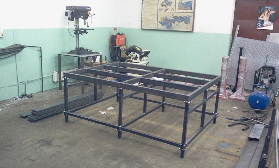 Как сделать гаражный стол