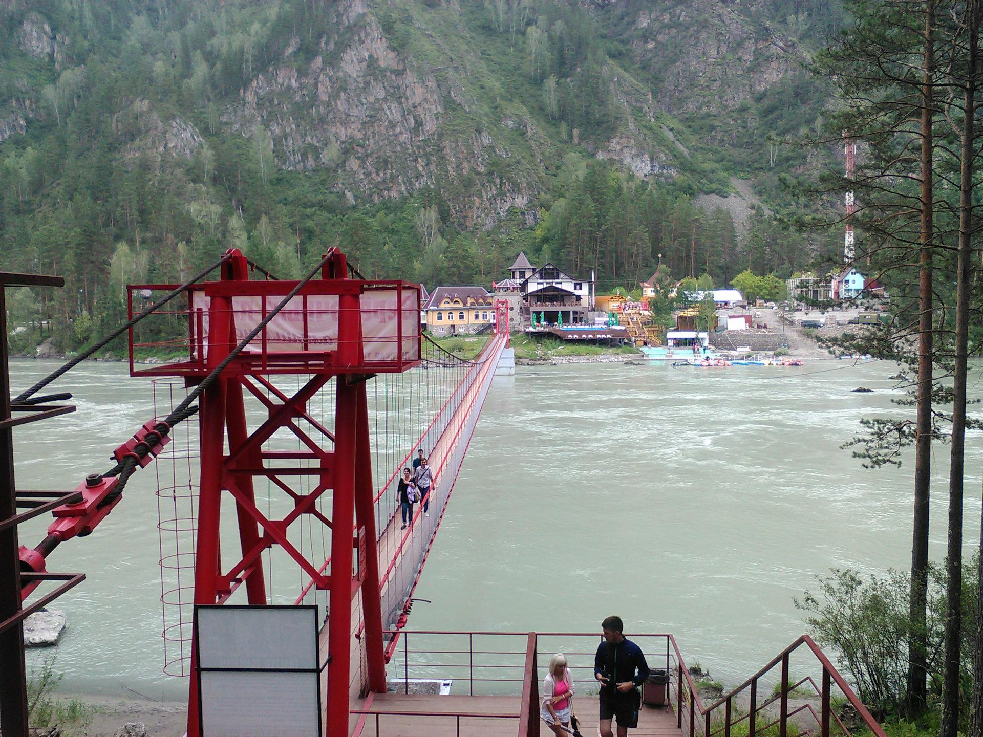 машины мосты через катунь усть сема горный алтай фото что перед