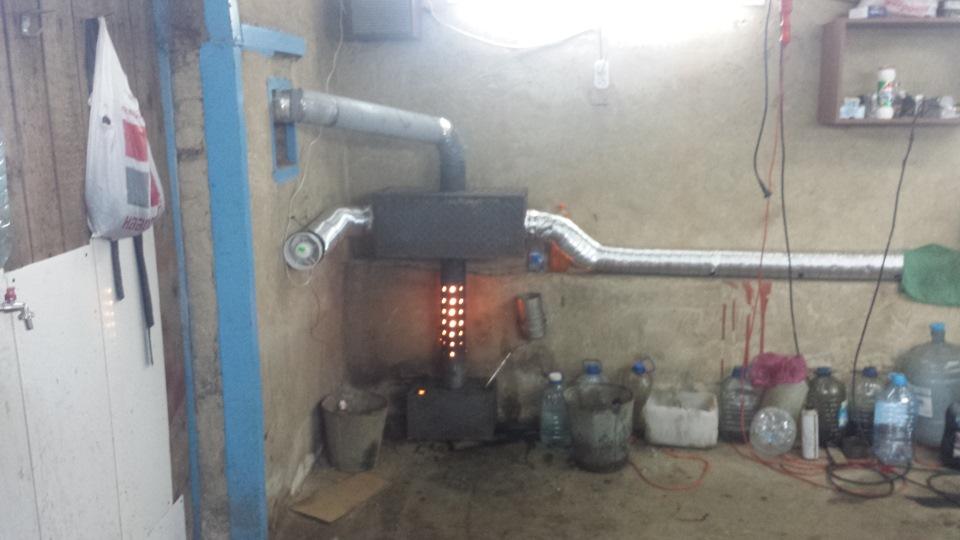 Дизельное отопление для гаража своими руками 63