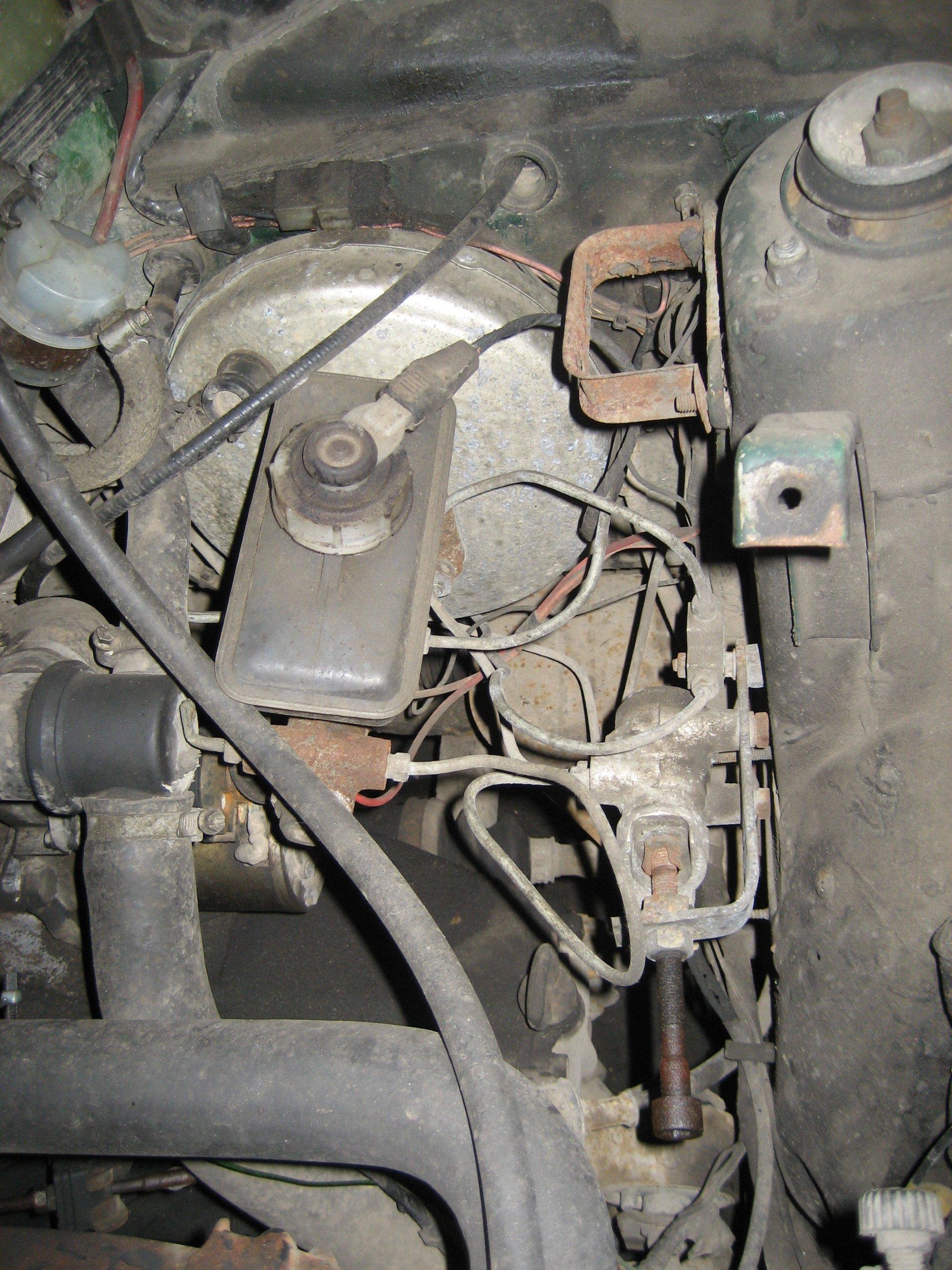 схема тормозной системы ваз-2110