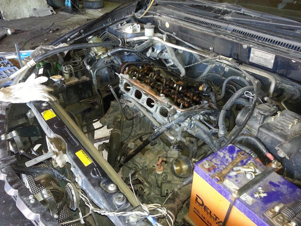 Текло масло из мотора. Поменял … — бортжурнал Toyota Will ... промаяться