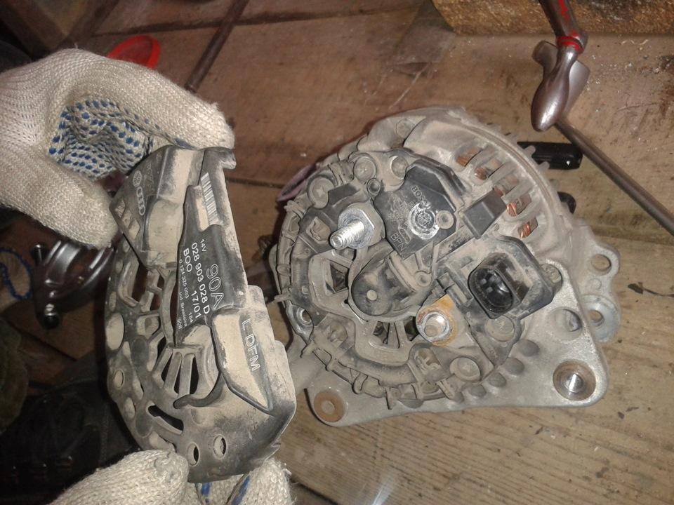 Фото №3 - замена токосъемных колец генератора ВАЗ 2110