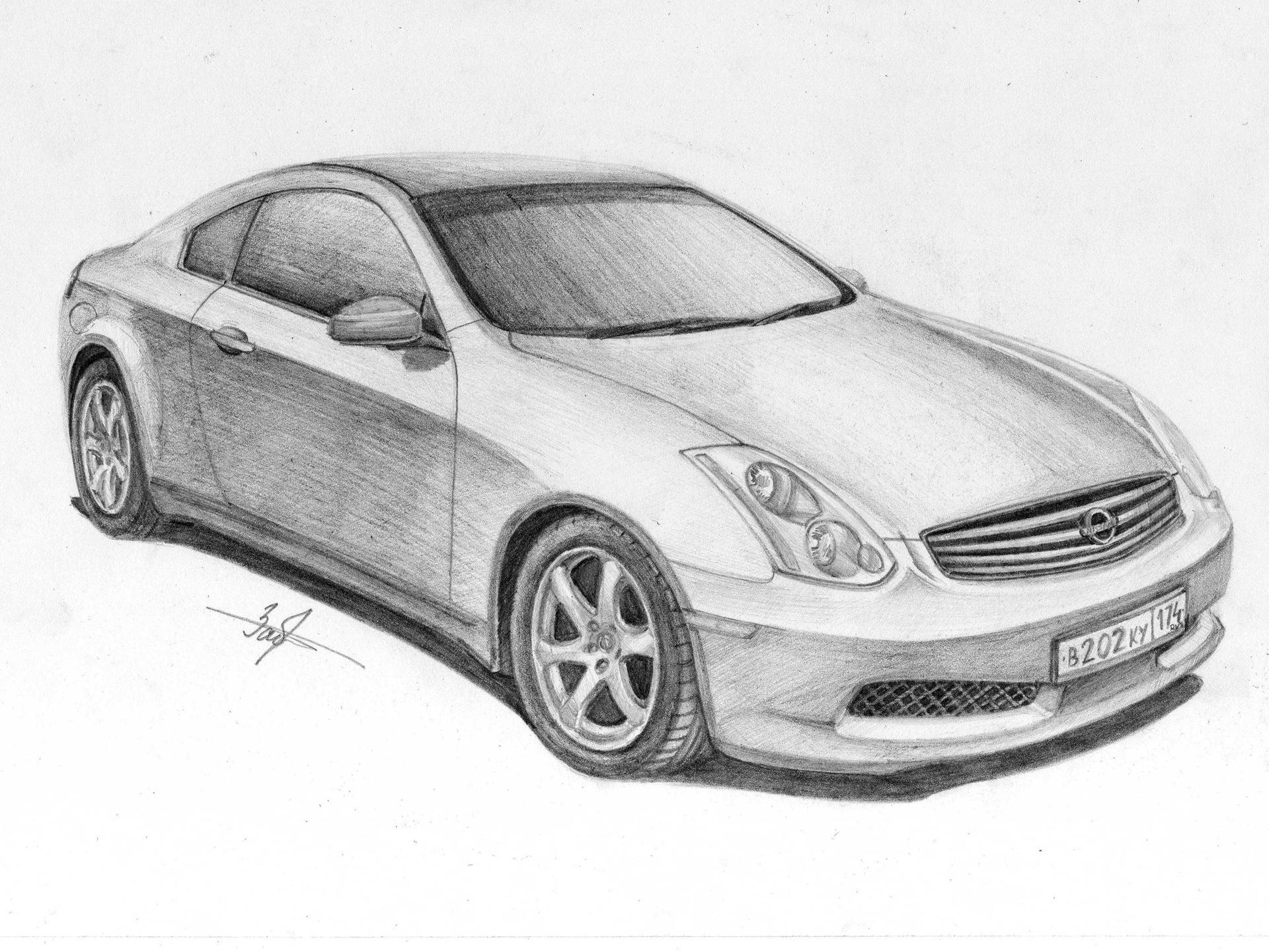 рисунки на авто: