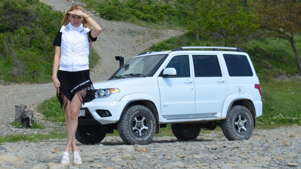 УАЗ Patriot Deribas-Patriot | DRIVE2 проходимец