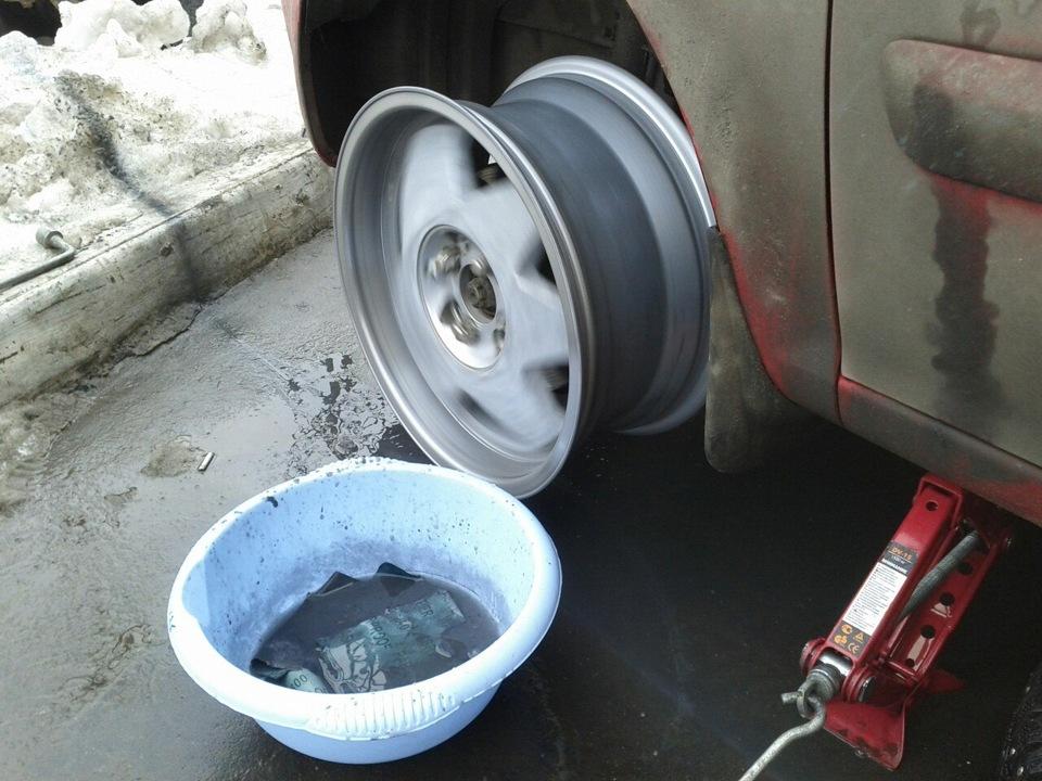 Как полировать литые диски своими руками 57