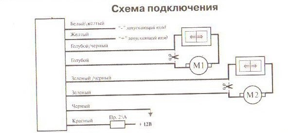 Вот схема контроллера