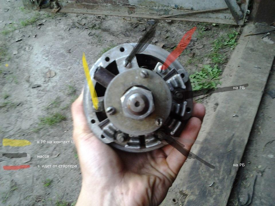 Ремонт генератора заз 968м своими руками