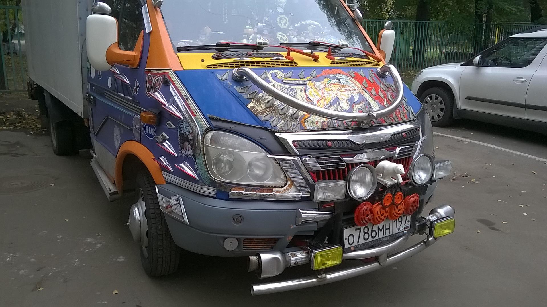 Газель фото машины тюнинг