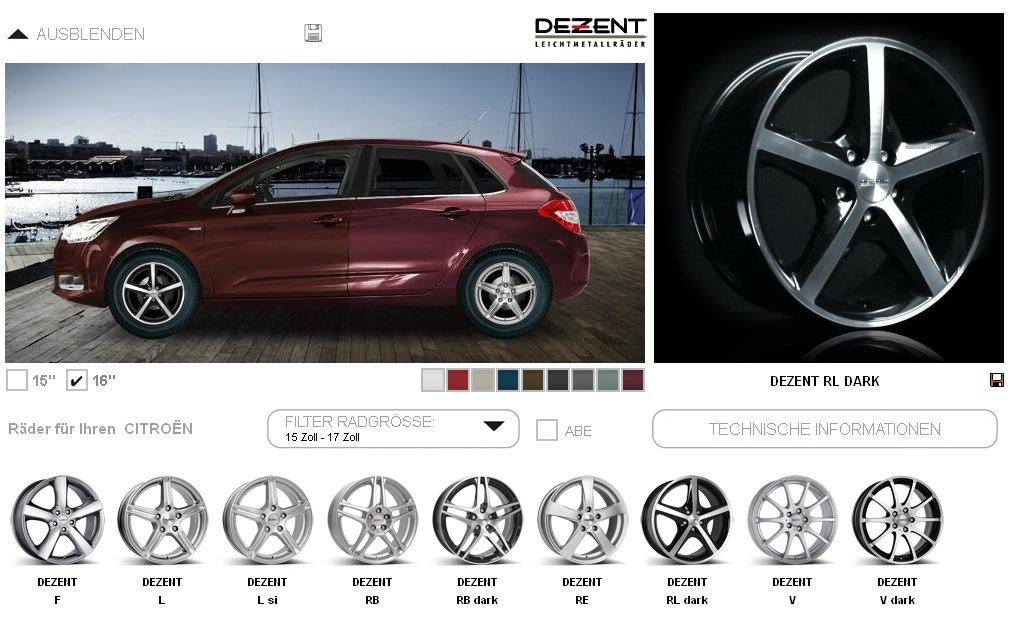 ситроен с4 седан колесные диски