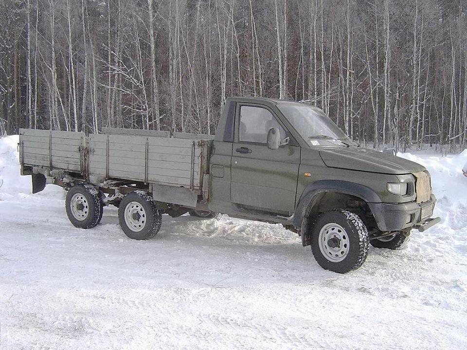 Различные НЕ серийные модификации УАЗ Симбир - DRIVE2