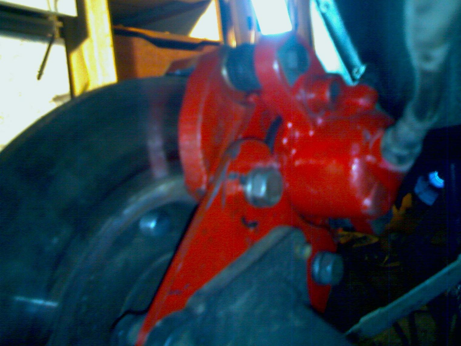Задние дисковые тормоза своими руками 363