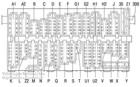 [электро] Схема расположения