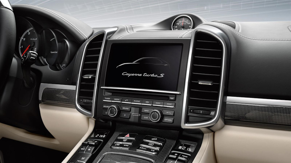 Навигация PCM Porsche Cayenne
