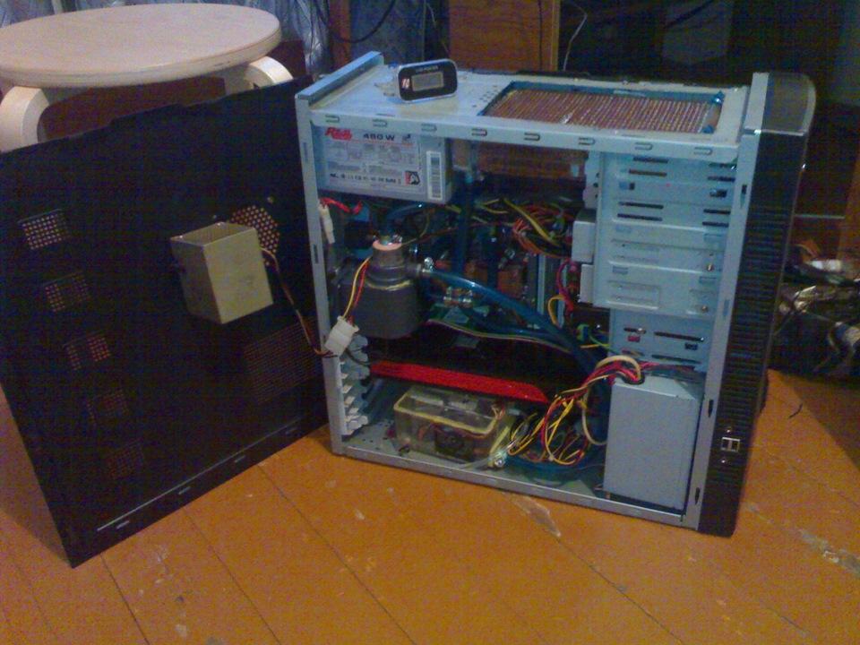Охлаждение для компьютера своими руками 18