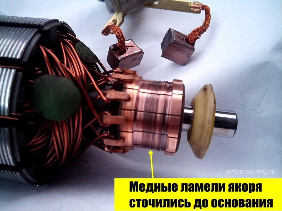 Ремонт коллектора якоря болгарки своими руками