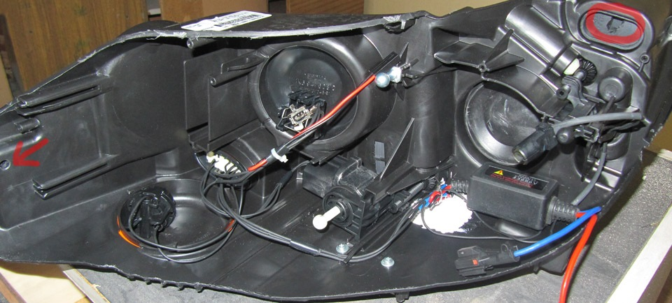 проводка фары ford focus 3
