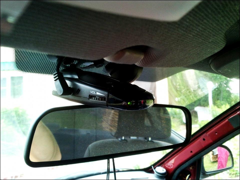 Установка радар детектора в машине своими руками