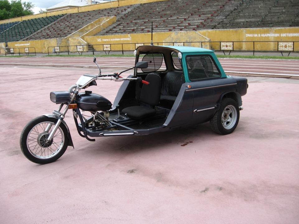 Трицикл из заз