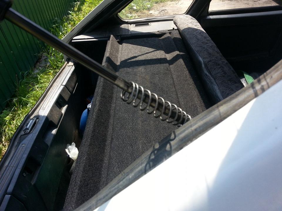 Как сделать чтобы багажник 2115 открывался сам