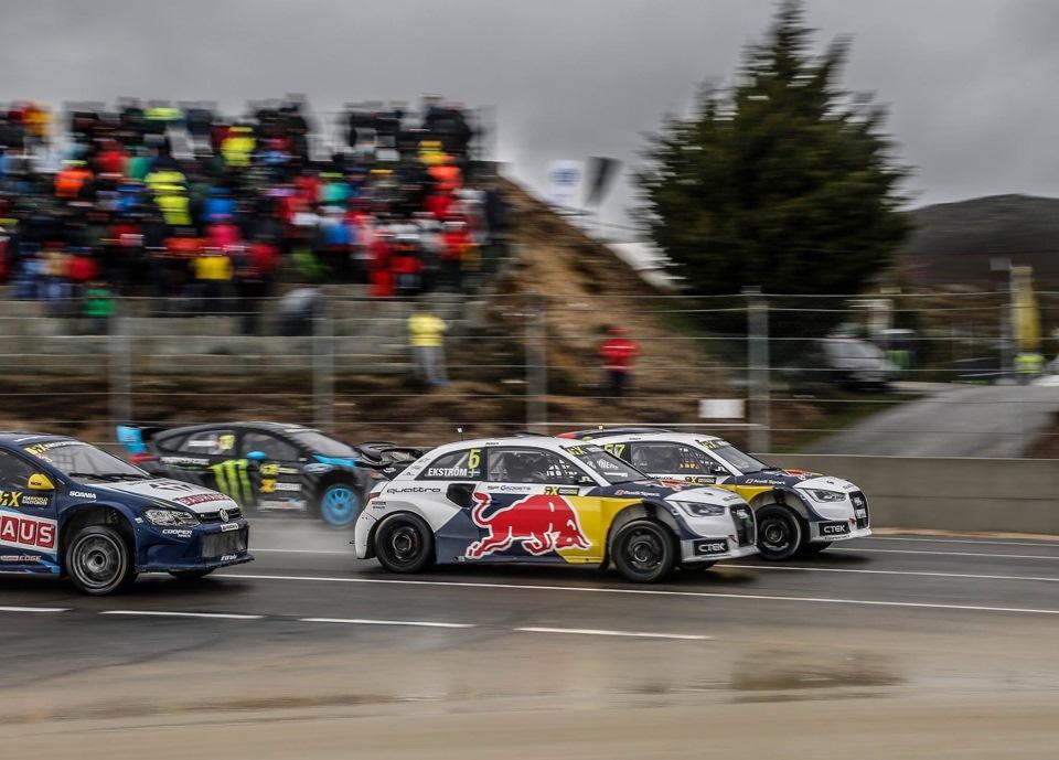 Audi S1 от Экстрема по-прежнему фантастически быстры. Сам Маттиас выиграл квалификационную часть гонки, а Тоомас Хейккинен поднялся на третью ступень пьедестала почёта в финале