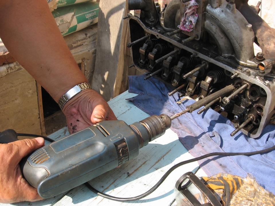 Как разобрать и собрать двигатель