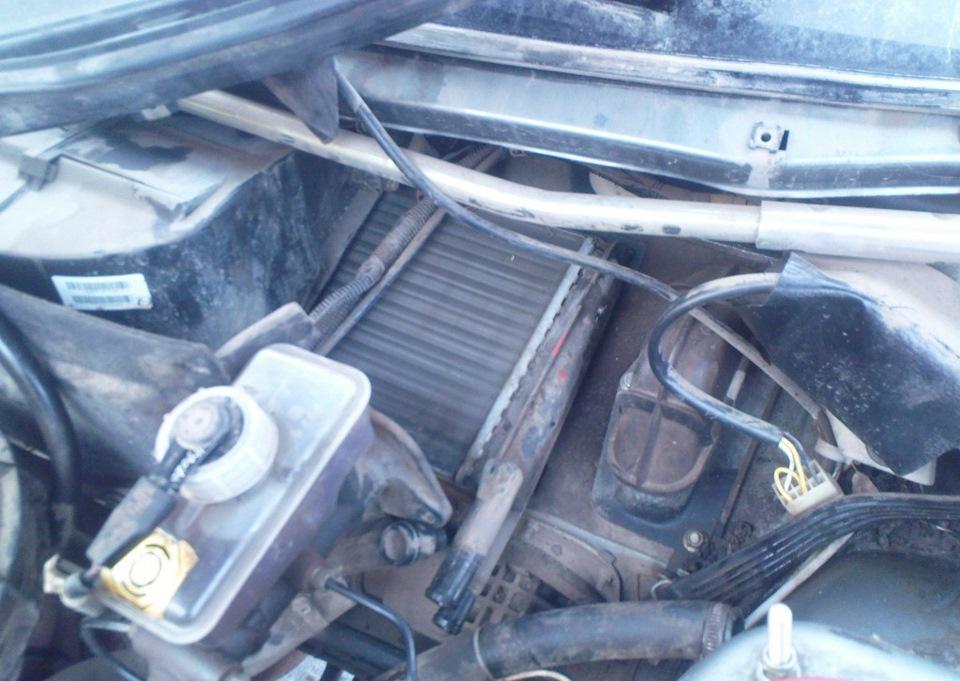 Фото №9 - замена радиатора печки на ВАЗ 2110