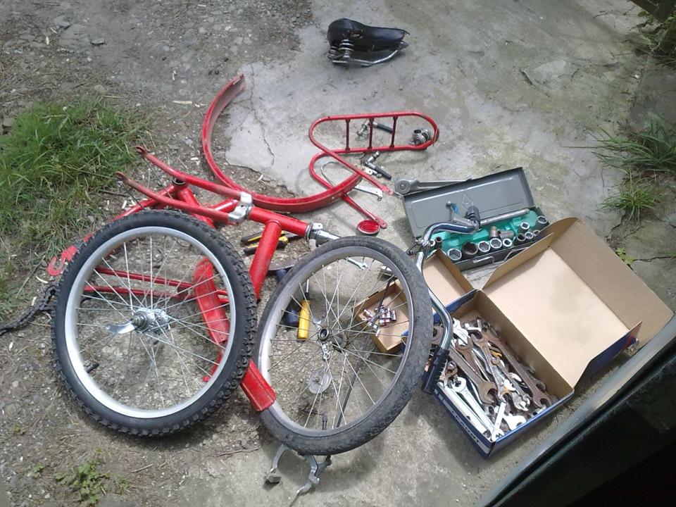 Ремонт велосипеда ссср своими руками 572