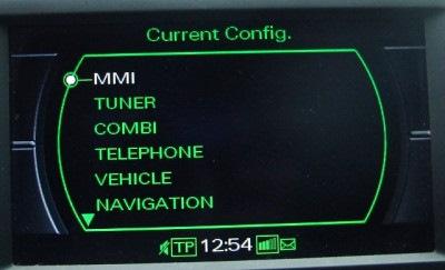 Audi Mmi 3g Hidden Menu