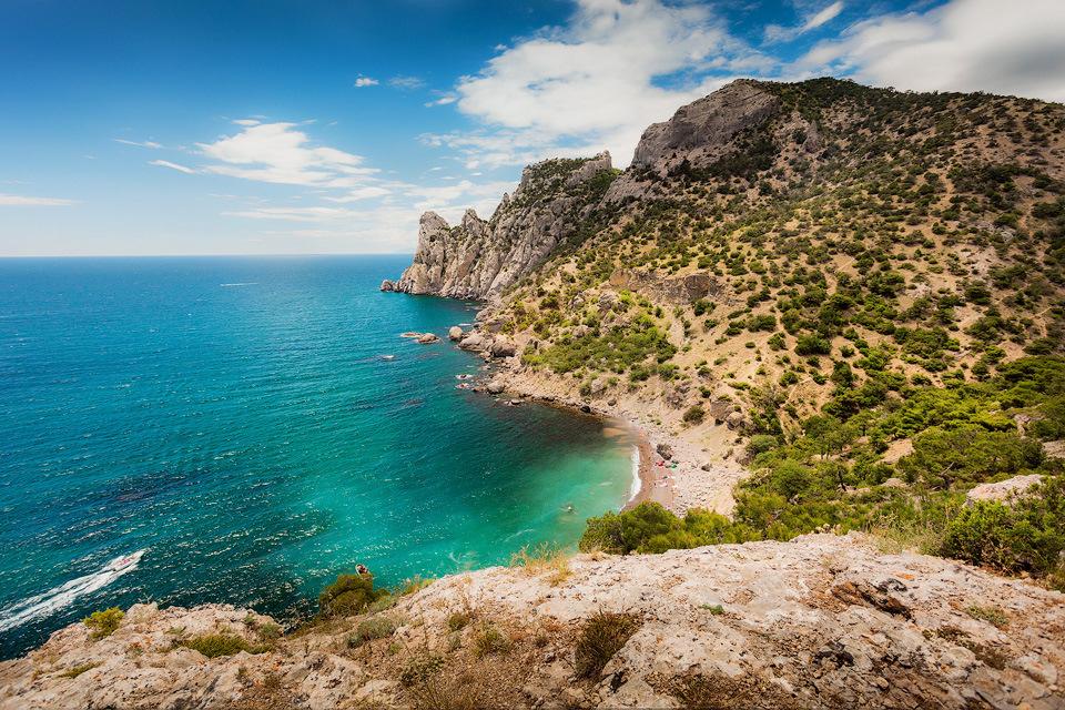 Фото пляжей нового света в крыму
