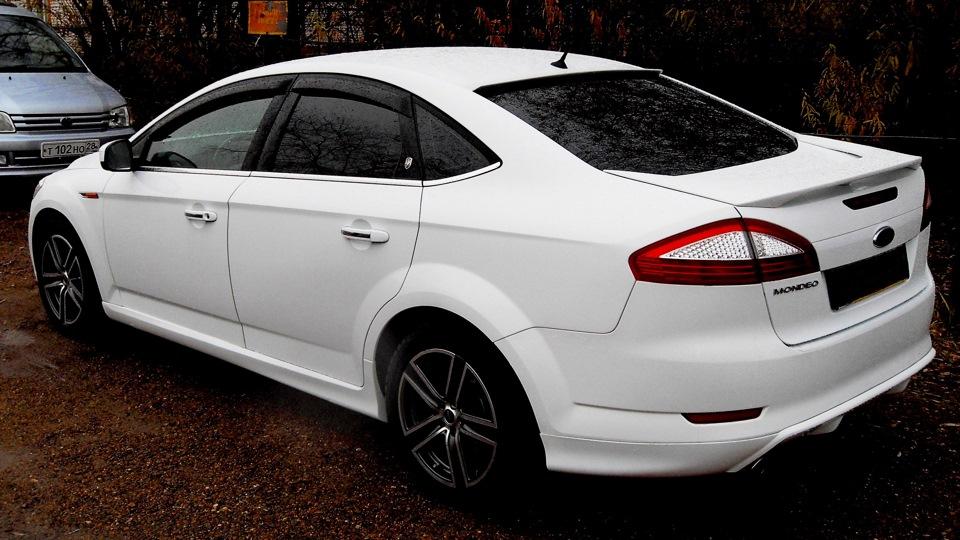 Форд мондео белая фото