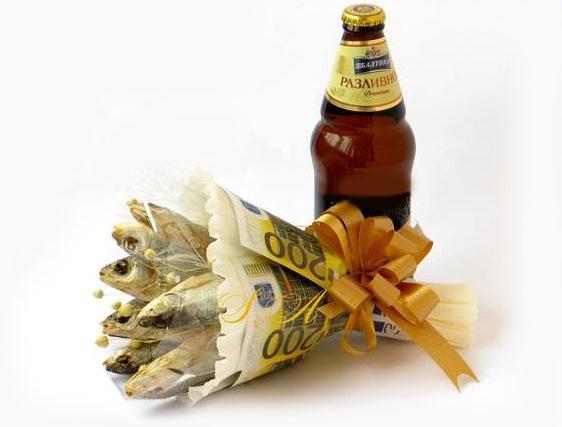 Днем рождения, с днем рождения картинки с пивом и рыбой